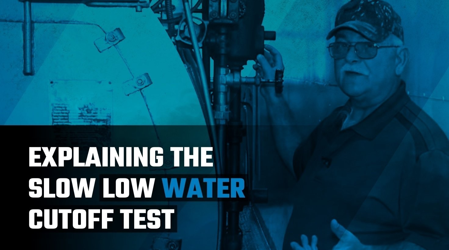 Explaining the Slow Low Water Cutoff Test