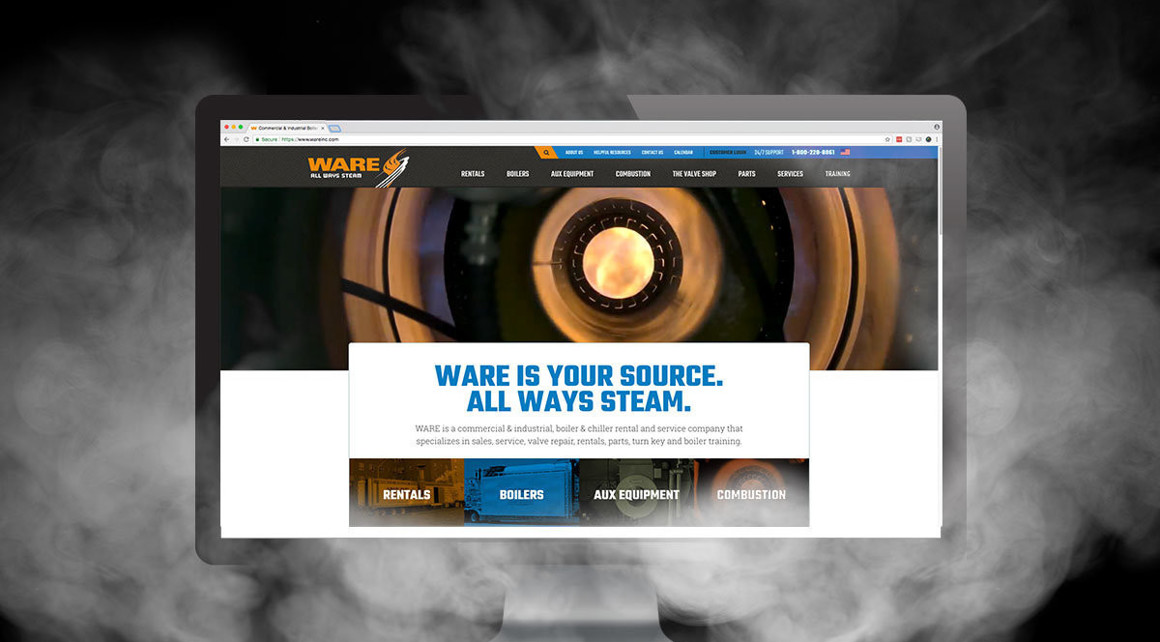 WARE'S New Website Is Steaming Up The Internet