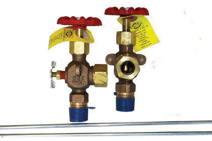 Boiler Sight Glass and Valves