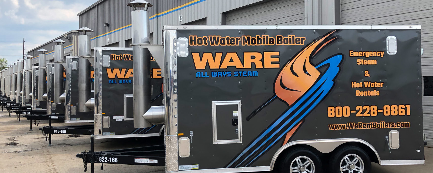 Mobile Hot Water Boiler Rentals